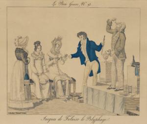 Jacques de Falaise gravure le polyphage