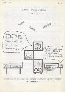 Le premier numéro des Caquets de la zig zaguée